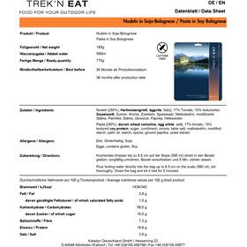 Trek'n Eat Tactical Day Ration Pack Comida Outdoor 1100g, Typ 4